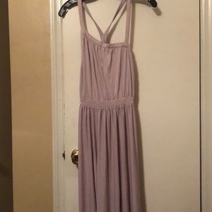 NWT UO KIMCHI BLUE MODAL GOWN Size M Lavender